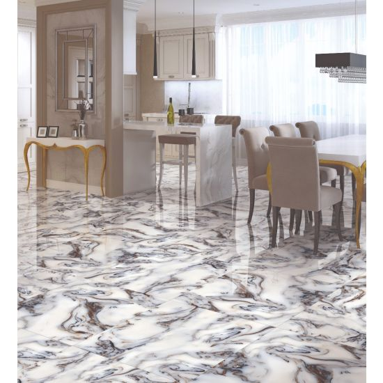 Kitchen Dining Wall and Floor Tiles