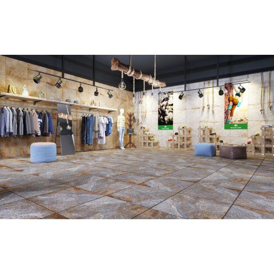 Retail Showroom Wall and Floor Tiles