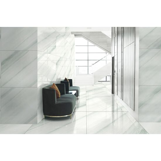 Office Waiting Area Wall and Floor Tiles