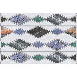 HWH Rhombus Stripes Grey HL