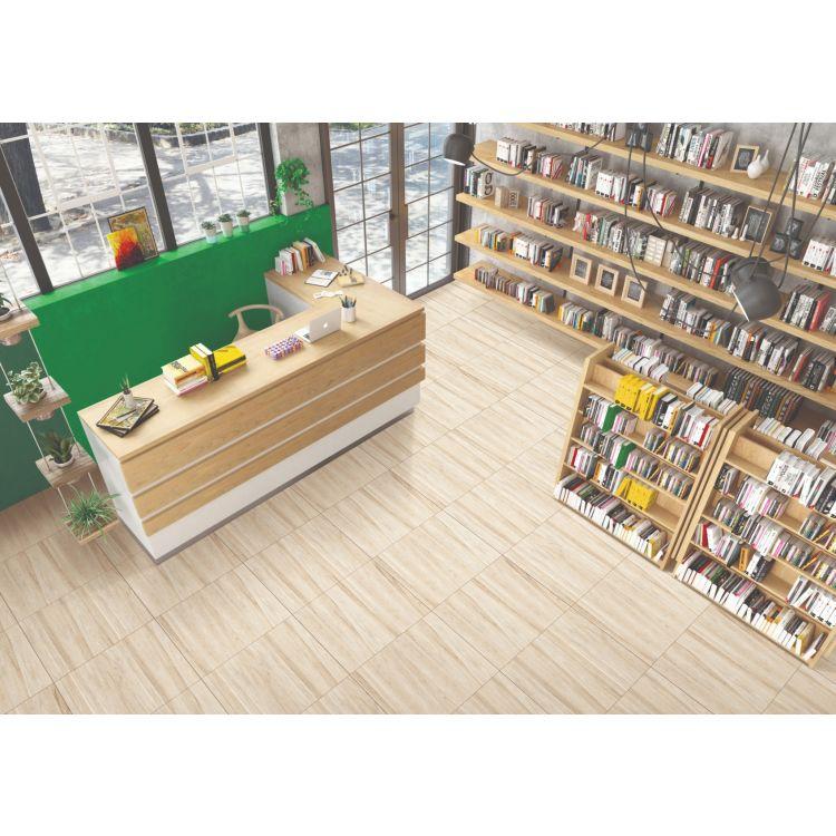 Library Hall Floor Tiles