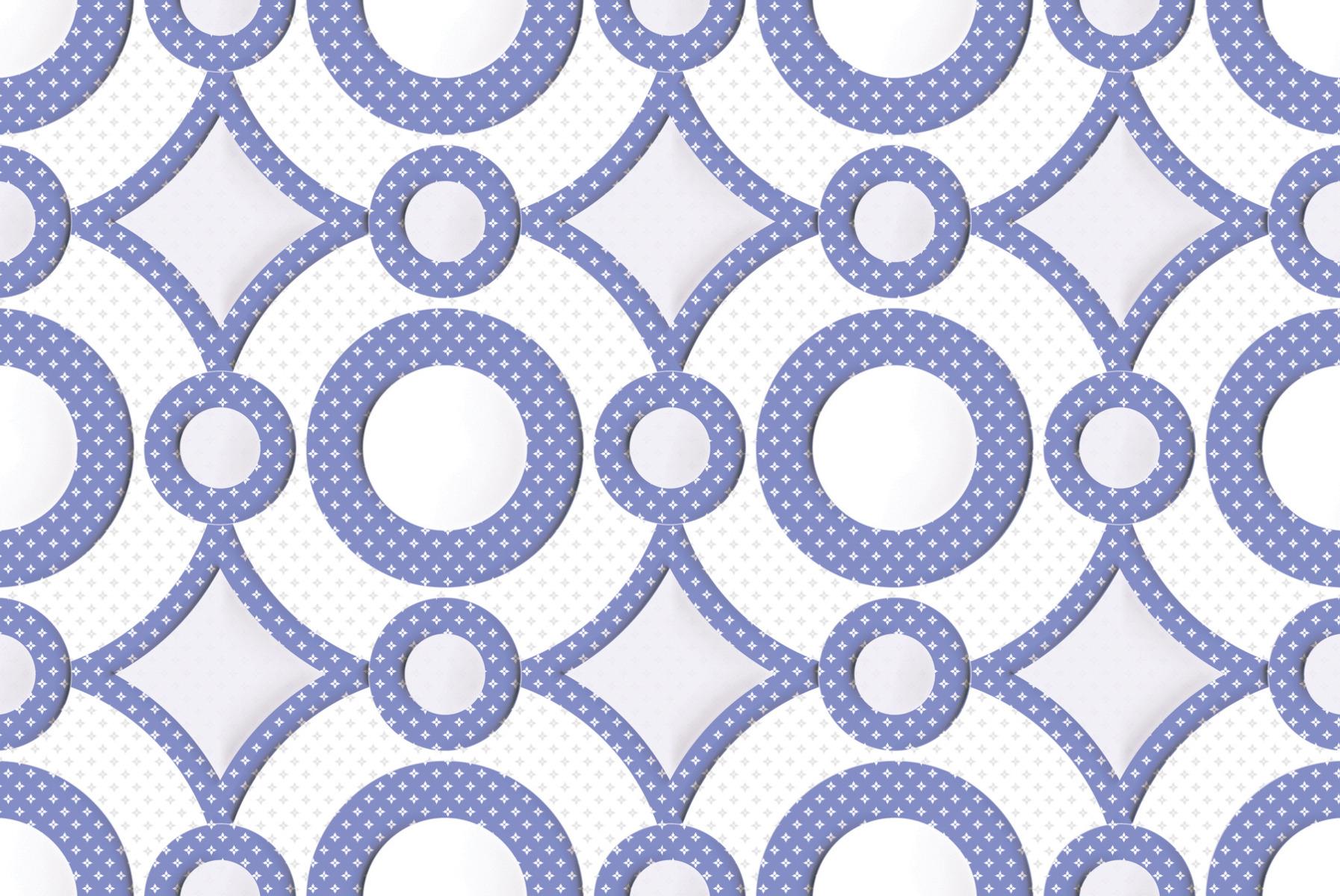 GFT SPH Geometric Purple HL