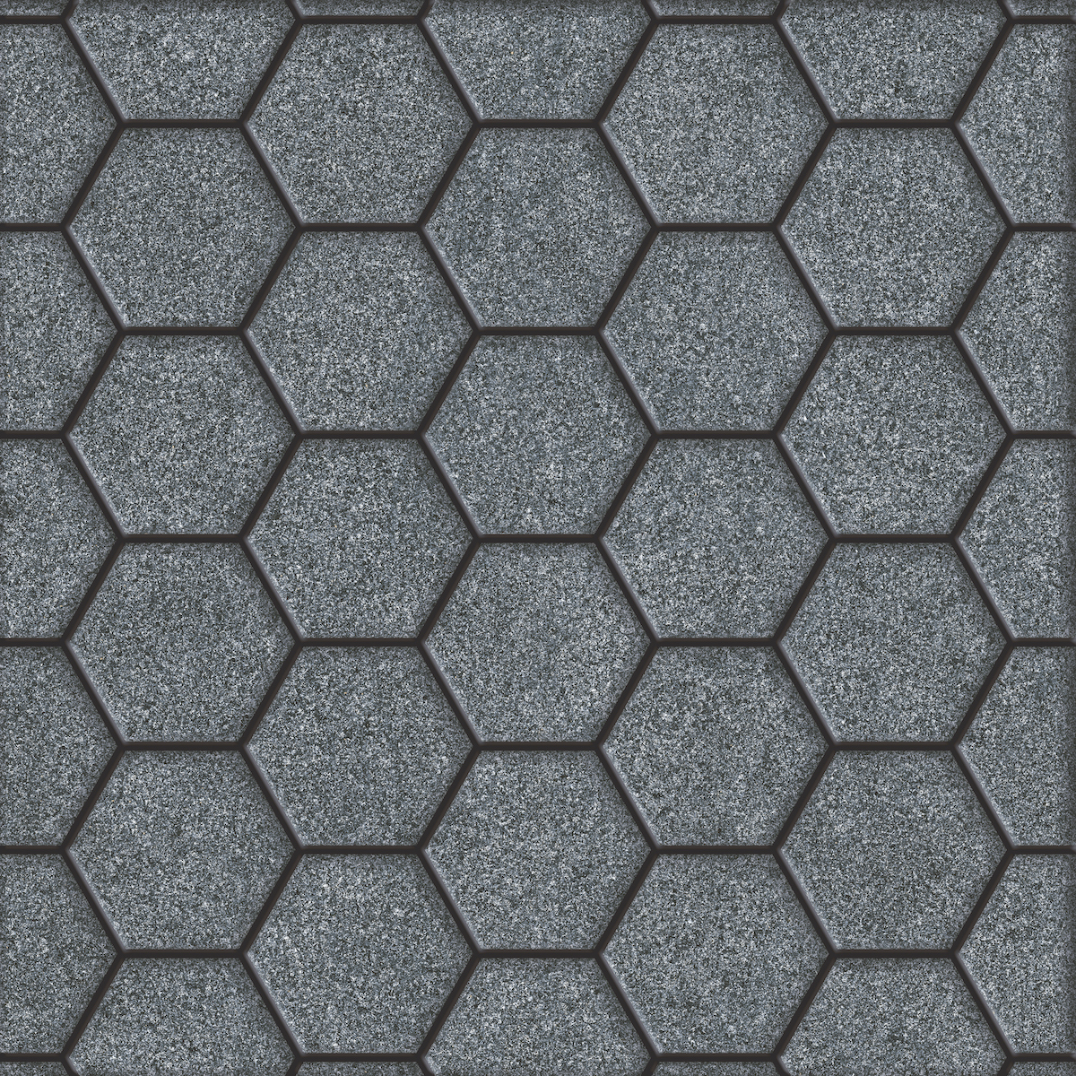 HRP Stone Hexagon Slate DK