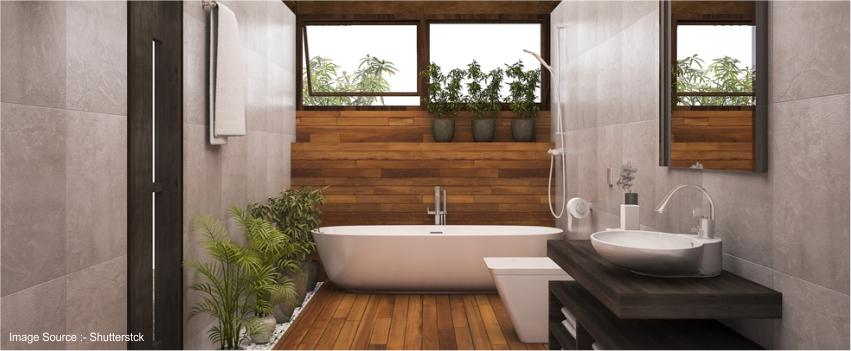 Wood Plank Bathroom Tiles