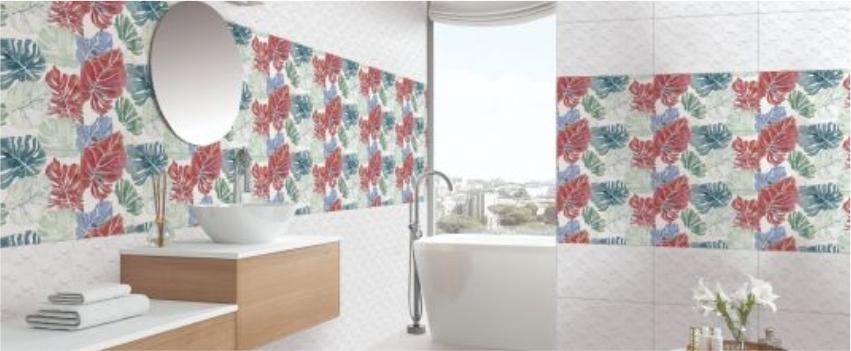 Flower Bathroom Tiles