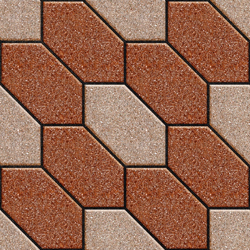 Orient Bell Tiles Ribbed Cotto Parking Tiles